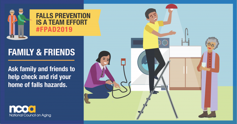 Home safety evaluations can help prevent falls